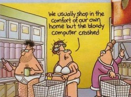 Online Shopping Cartoons
