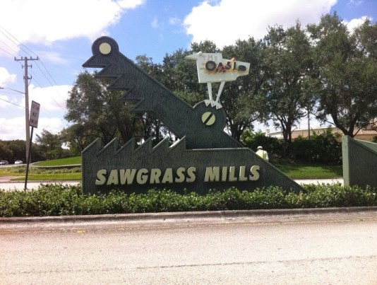 Sawgrass Mills Mall By Beto B. (4 square)